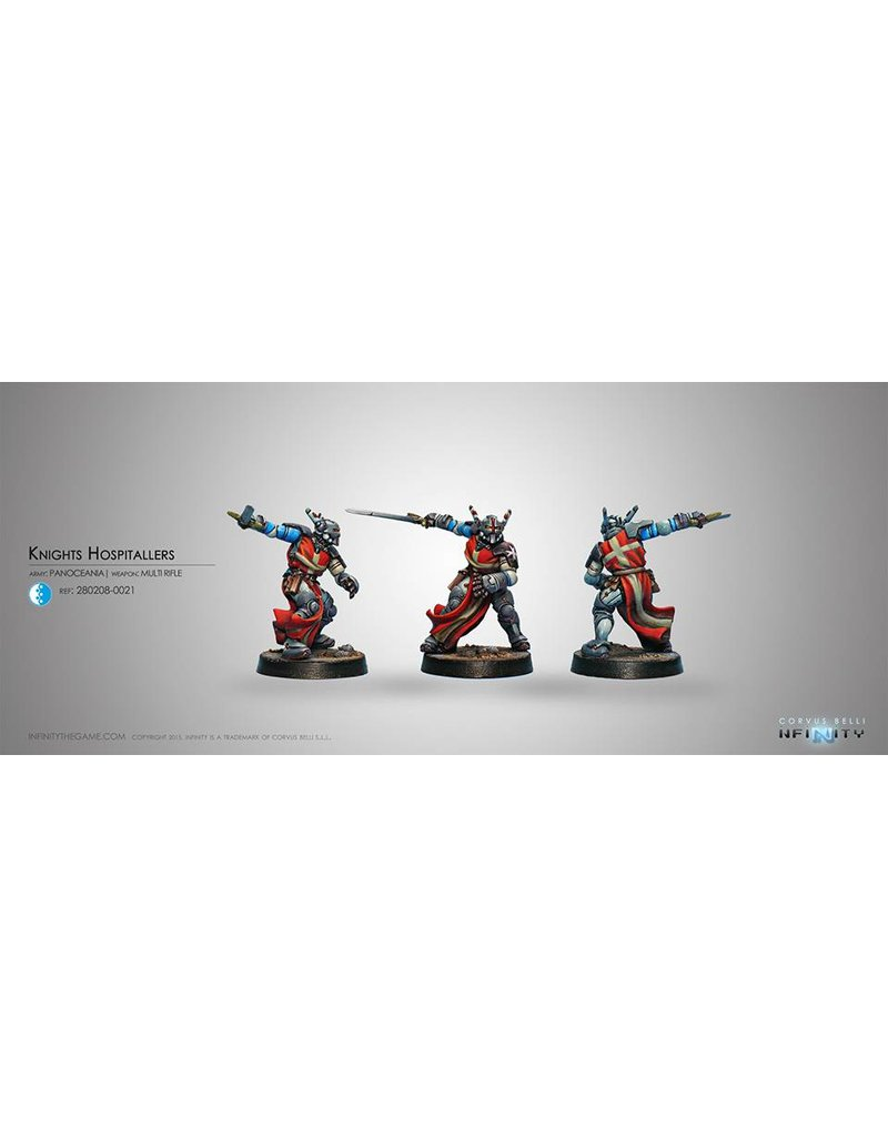Corvus Belli Panoceania Knight Hospitaller (Multi rifle) Blister Pack