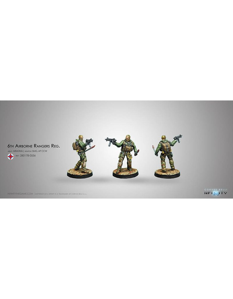 Corvus Belli Ariadna 6th Airborne Rangers Reg. (Submachine gun) Blister Pack