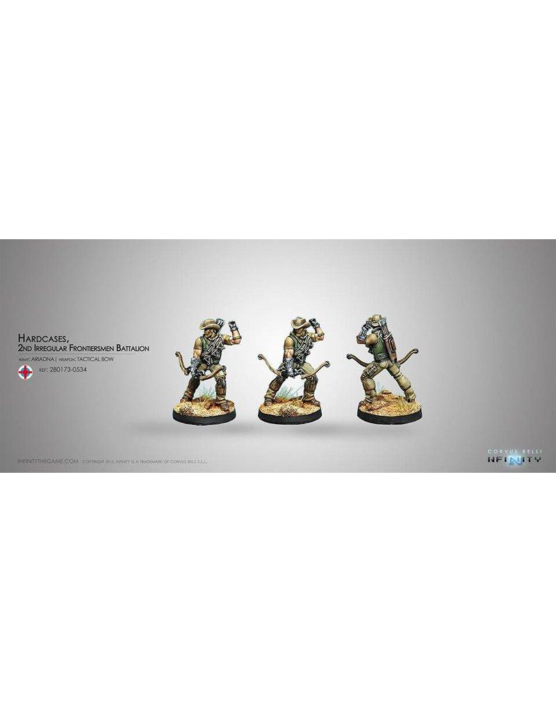 Corvus Belli Ariadna Hardcases, 2nd Irregular Frontiersmen Battalion Box Set