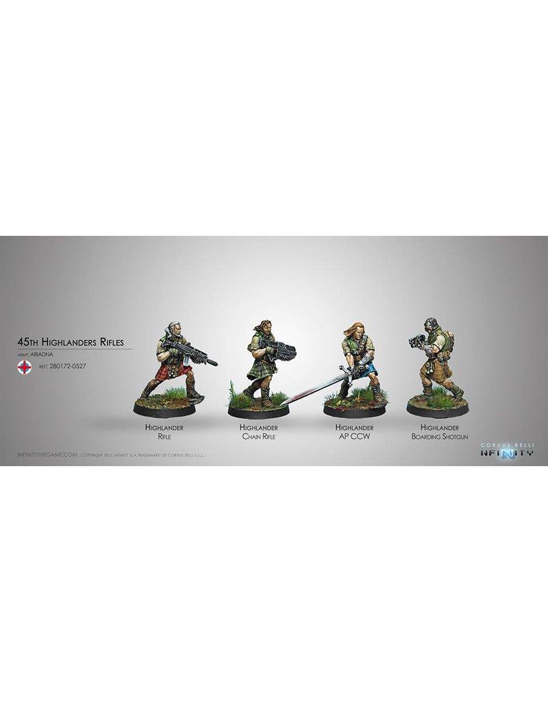 Corvus Belli Ariadna 45th Highlander Rifles Box Set