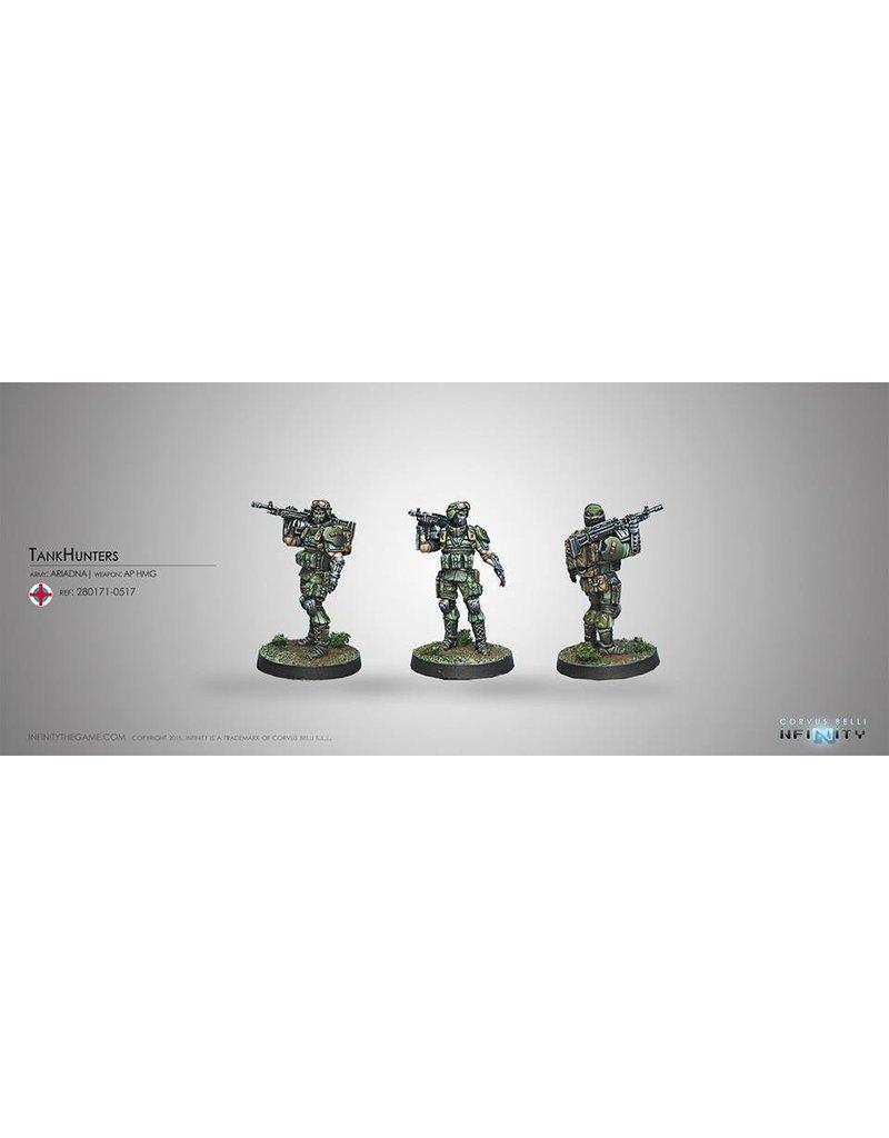 Corvus Belli Ariadna Tankhunter (AP HMG) Blister Pack