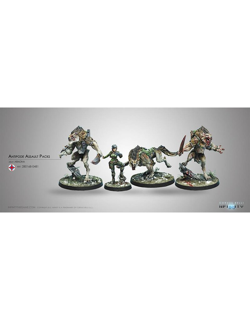 Corvus Belli Ariadna Antipode Assault Pack Box Set