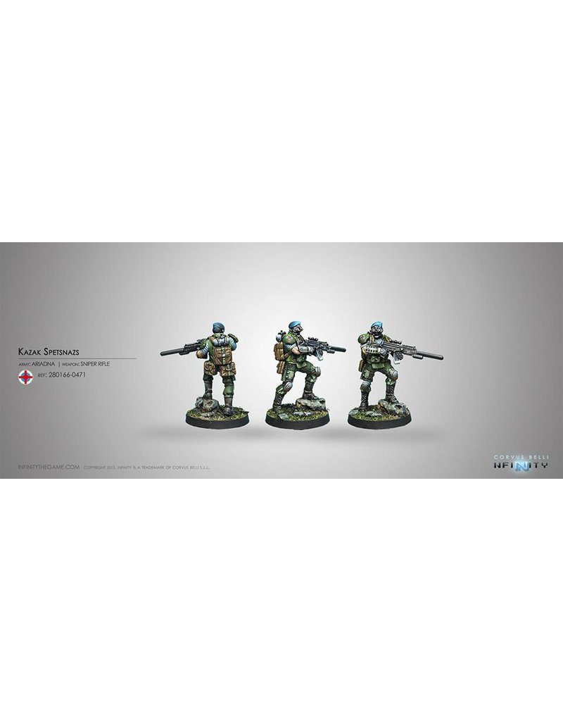 Corvus Belli Ariadna Kazak Spetsnaz (Sniper Rifle) Blister Pack