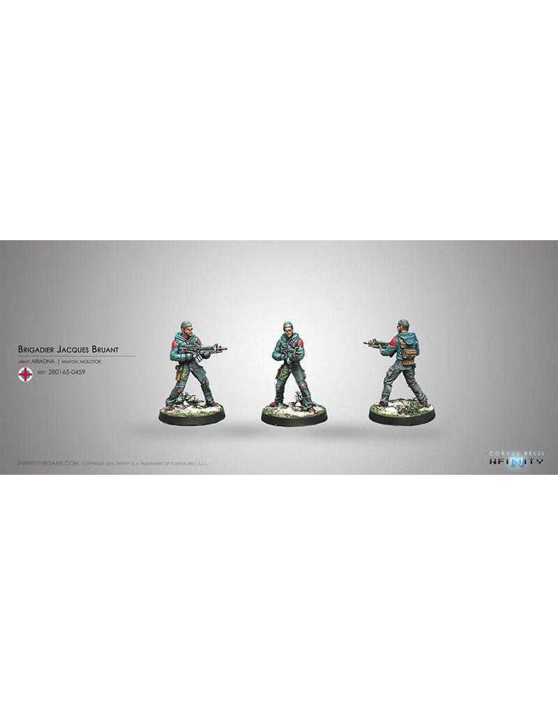 Corvus Belli Ariadna Brigadier Jacques Bruant, Sous-officier des Metros (Molotok) Blister Pack