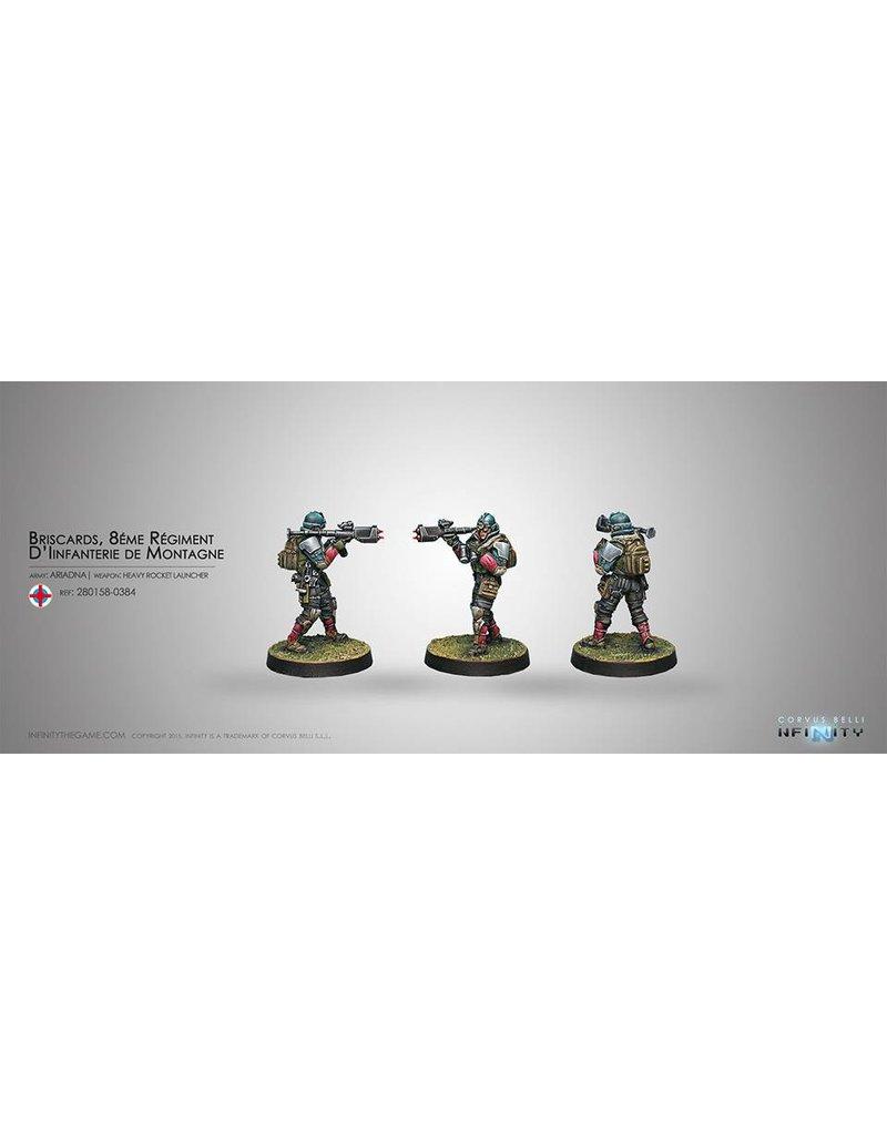 Corvus Belli Ariadna Briscards (Heavy Rocket Launcher) Blister Pack