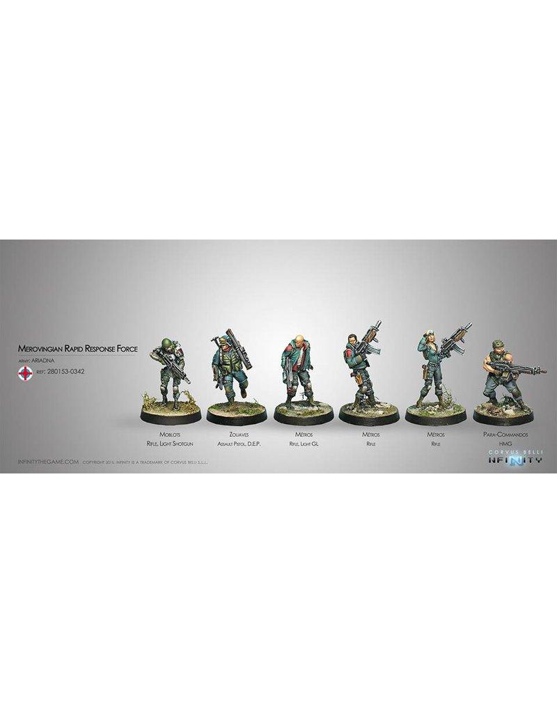 Corvus Belli Ariadna Force de Reponse Rapide Merovingienne (Sectorial Starter Pack) Box Set