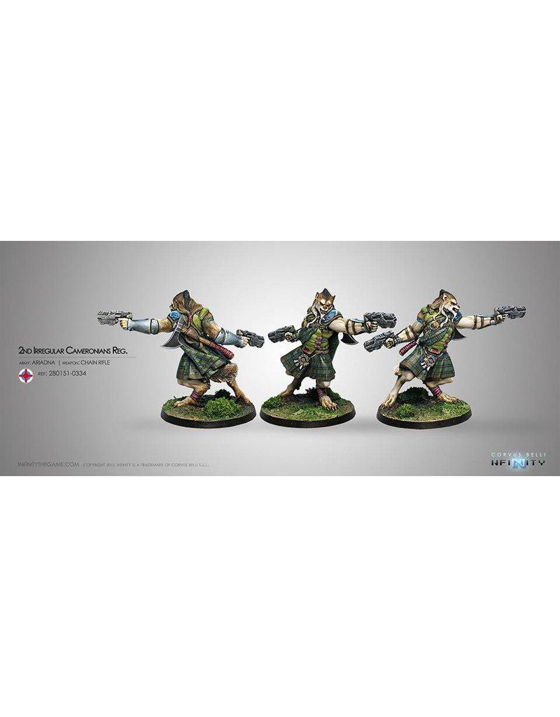 Corvus Belli Ariadna Cameronians (Chain Rifle, AP CCW) Blister Pack