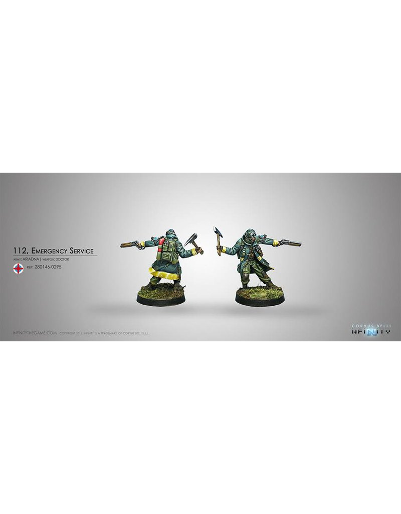 Corvus Belli Ariadna 112, Emergency Service (Doctor) Blister Pack