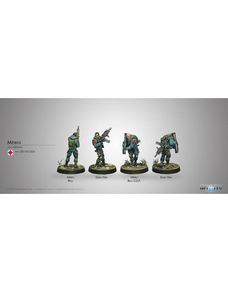 Corvus Belli Ariadna Metros (Rifle, D.E.P.) Blister Pack