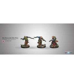 Corvus Belli 3rd Highlander Rifles (Rifle, 2 Light Shotguns)