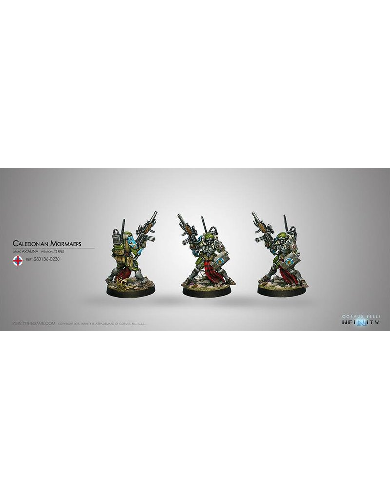 Corvus Belli Ariadna Caledonian Mormaers (T2 Rifle) Blister Pack
