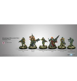 Corvus Belli Caledonian Highlander Army (Sectorial Pack)