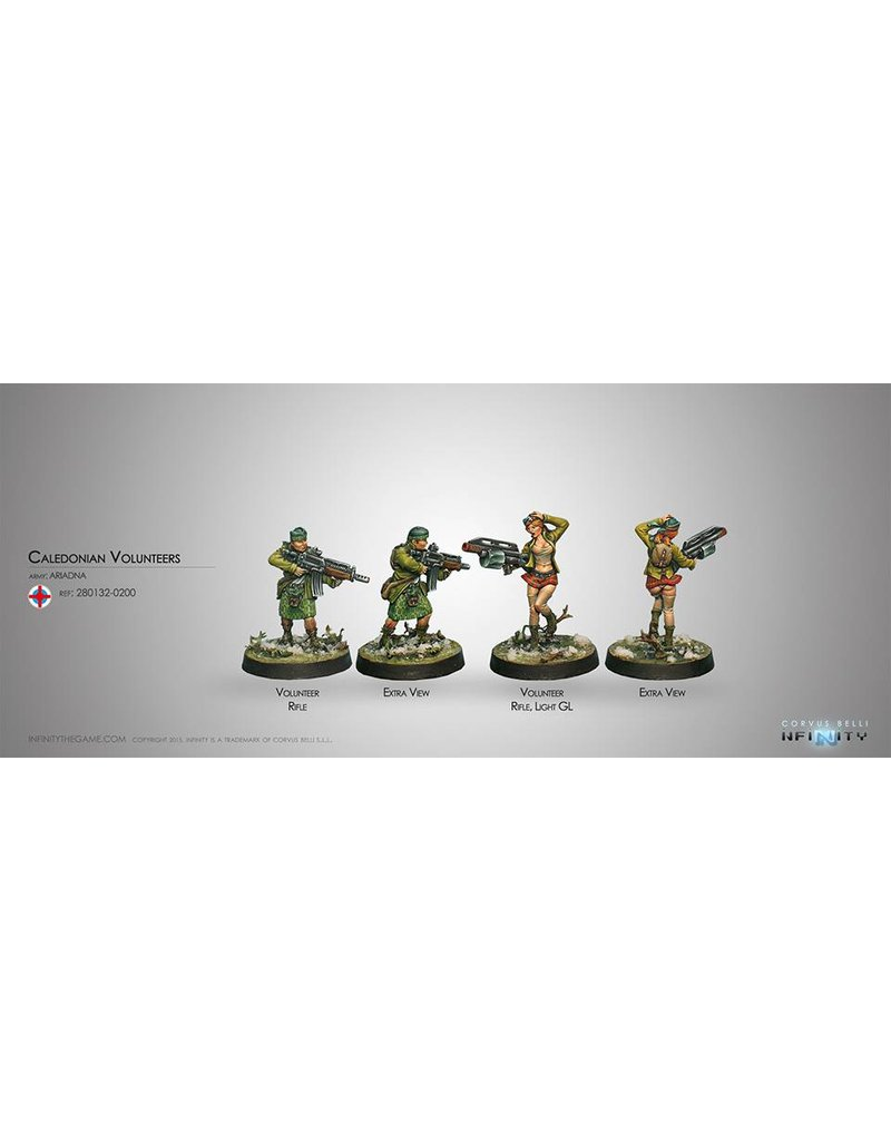Corvus Belli Ariadna Caledonian Volunteers (Rifle, Light GL) Blister Pack