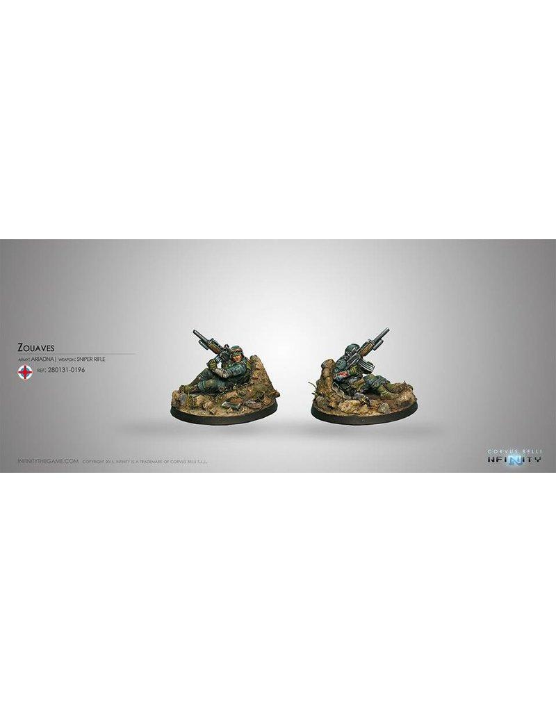 Corvus Belli Ariadna Zouaves (Sapper - Sniper) Blister Pack