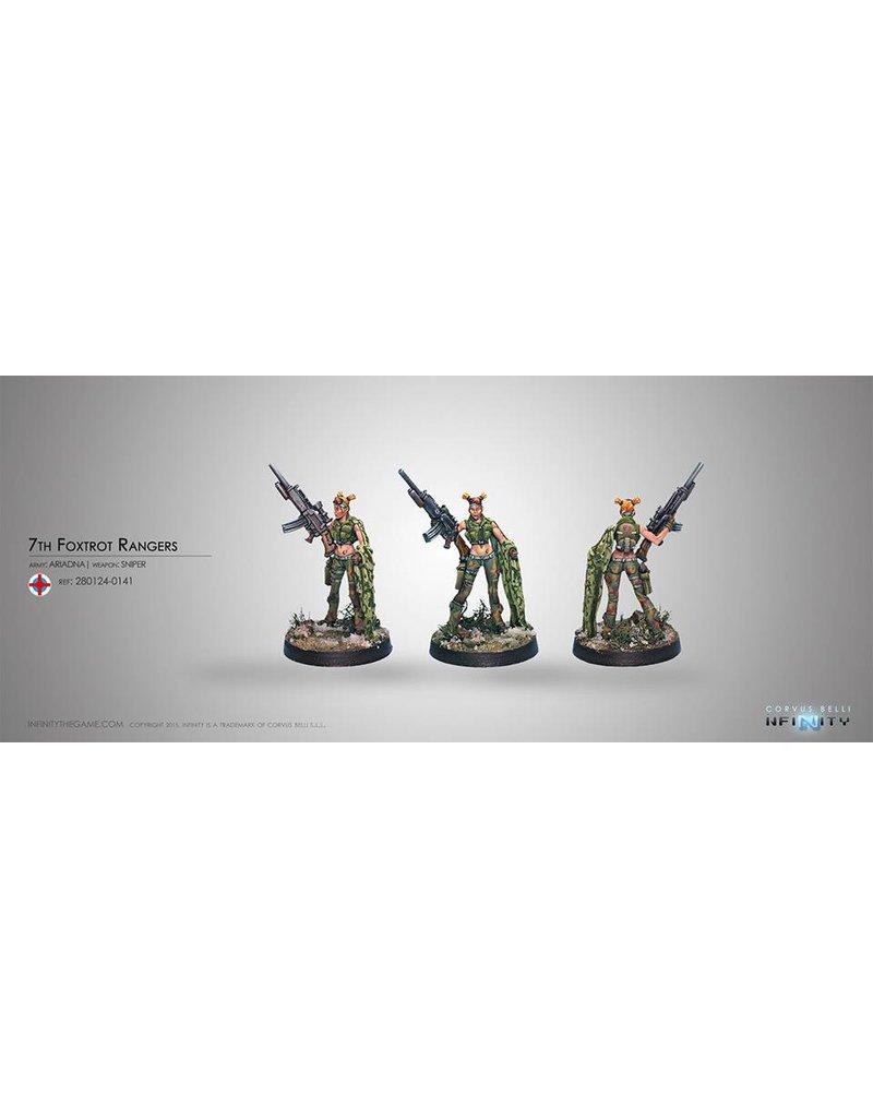 Corvus Belli Ariadna Foxtrot Rangers (Sniper) Blister Pack