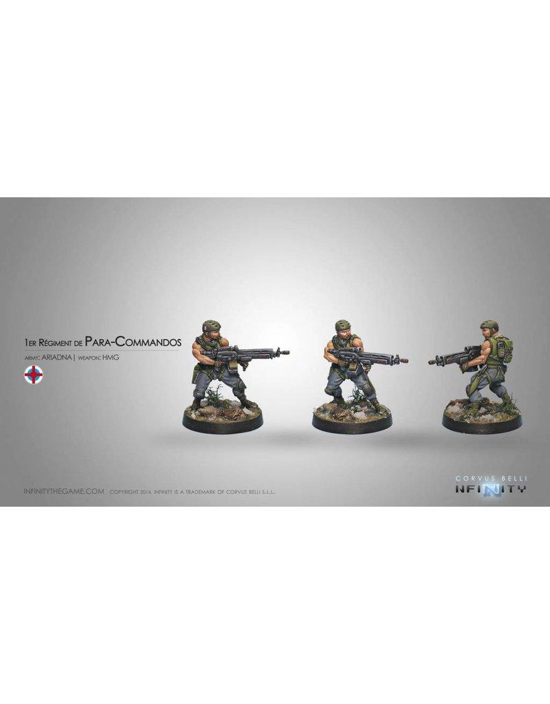 Corvus Belli Ariadna  1st Regiment Para-Commandos (HMG) Blister Pack