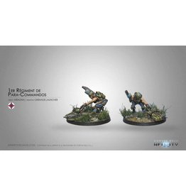 Corvus Belli 1st Regiment Para-Commandos 1 (Rifle, Light GL)