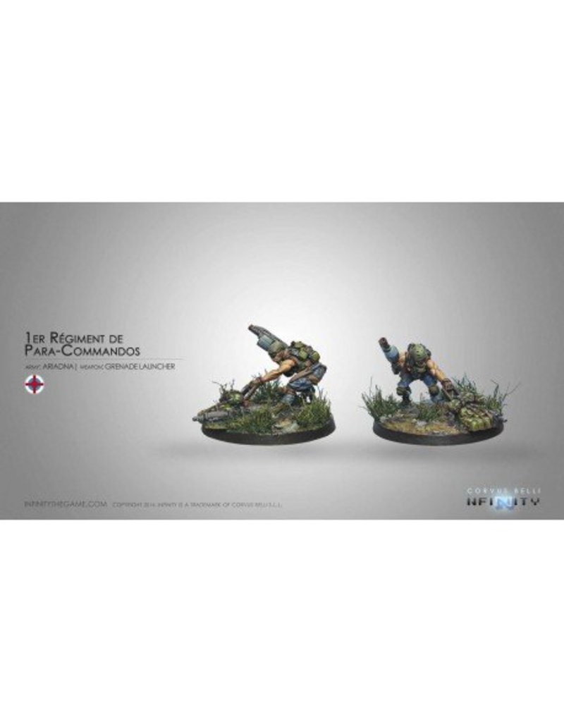 Corvus Belli Ariadna 1st Regiment Para-Commandos (Rifle, Light GL) Blister Pack