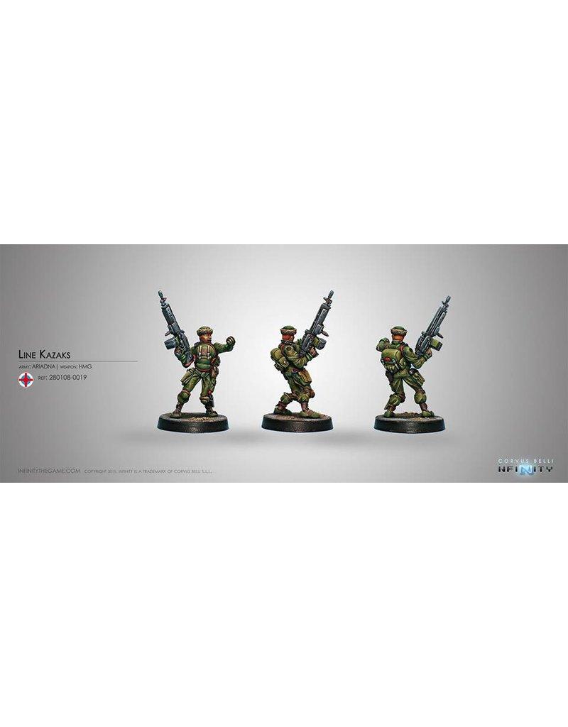 Corvus Belli Ariadna Line Kazak (HMG) Blister Pack