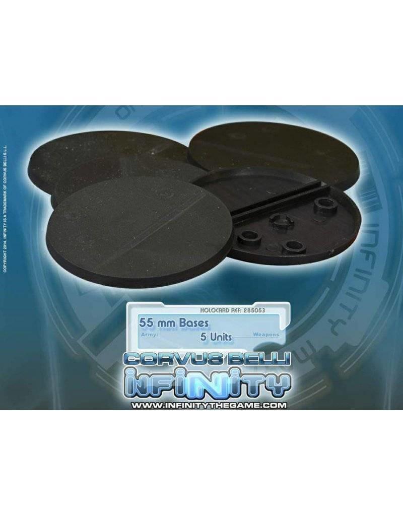 Corvus Belli  Infinity 55mm Round Bases