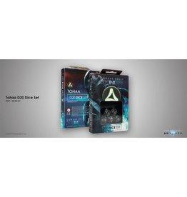 Corvus Belli Tohaa D20 Dice Set (Set of five 20-sided dice)