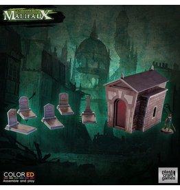 Plast-Craft Graveyard Set - ColorED