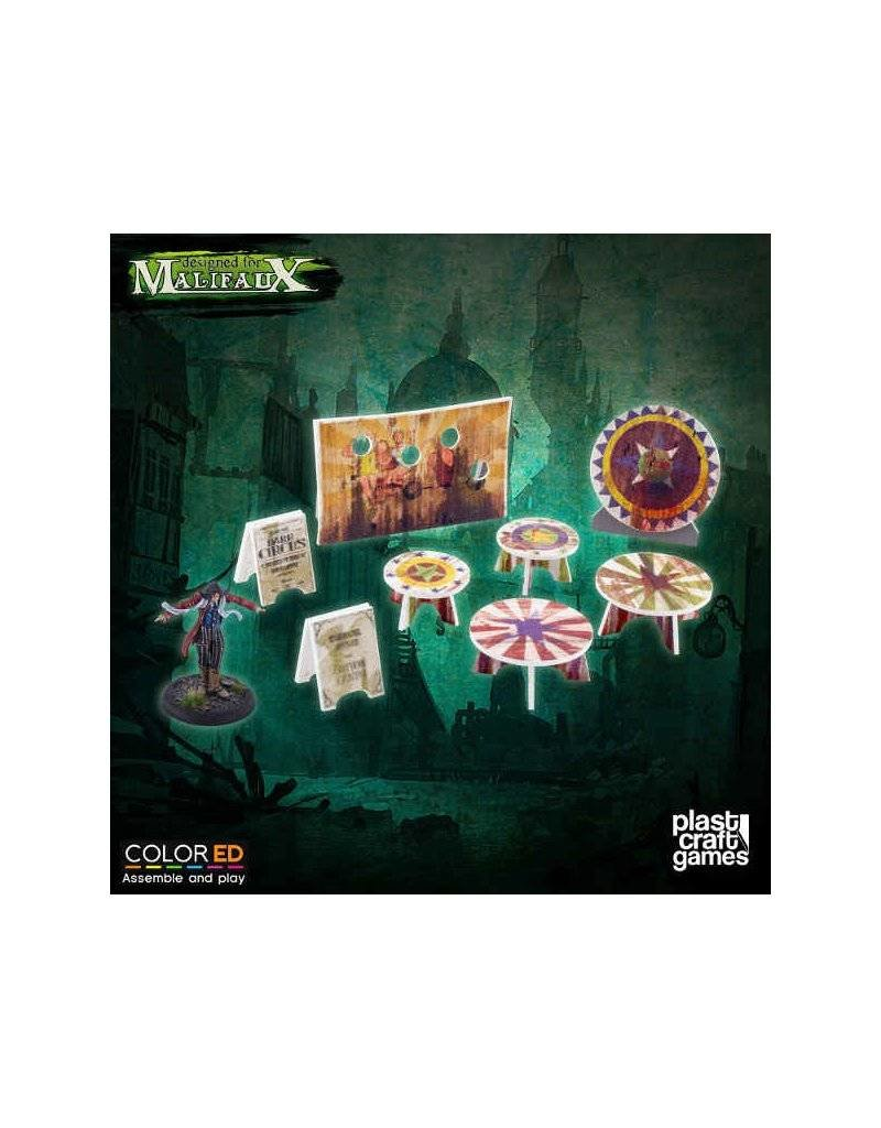 Plastcraft Dark-Carnival  Circus Prop Set (pre-painted)