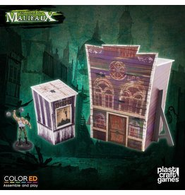 Plast-Craft Dark-Carnival Passage of Terror (pre-painted)
