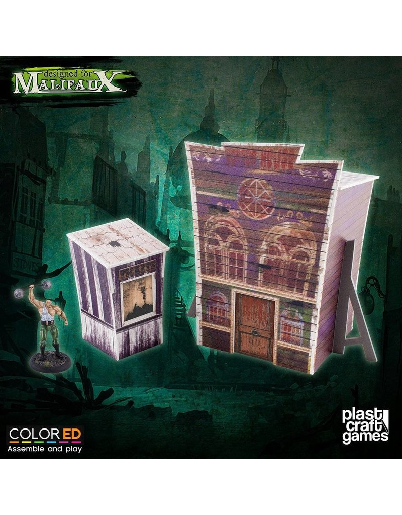 Plastcraft Dark-Carnival Passage of Terror (pre-painted)