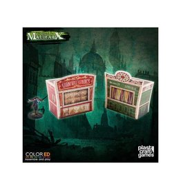 Plast-Craft Dark-Carnival Circus Stand Set (2 x pre-painted)