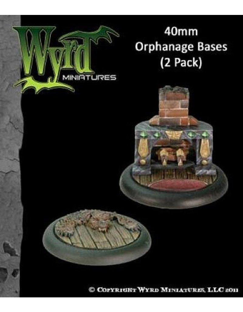 Wyrd Orphanage Bases 40mm (2)