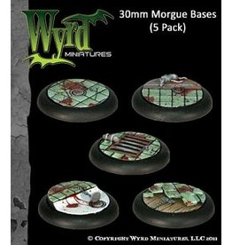 Wyrd Morgue 30mm bases (5)