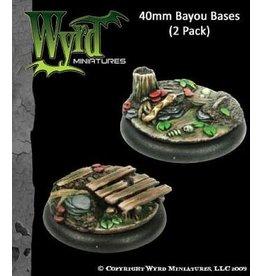 Wyrd Bayou Bases - 40mm (2)