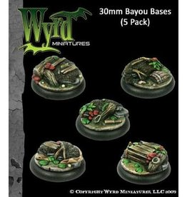 Wyrd Bayou Bases - 30mm (5 pack)