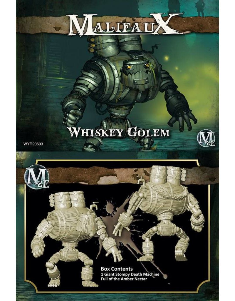 Wyrd Gremlins Whiskey Golem Box Set