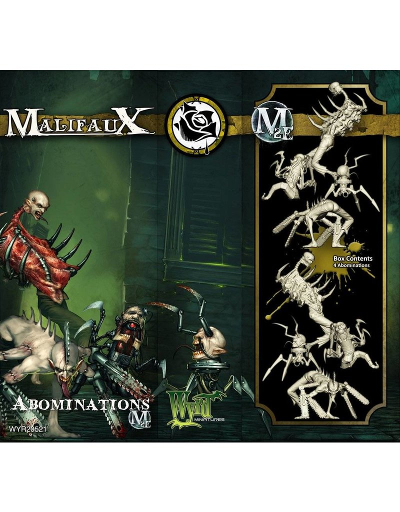 Wyrd Outcasts Abominations Box Set