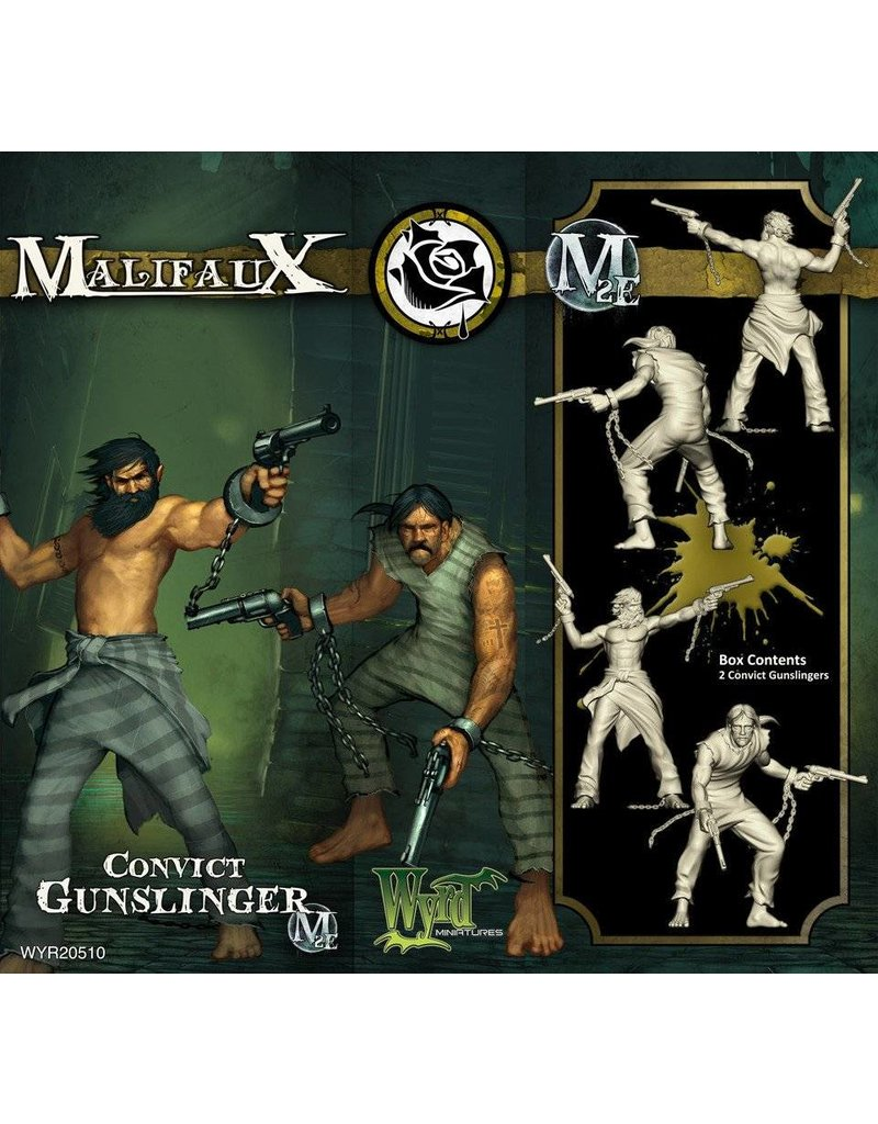 Wyrd Outcasts Convict Gunslingers Box Set