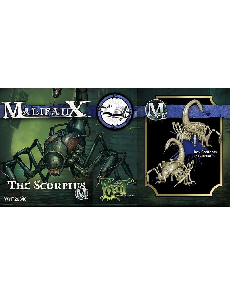 Wyrd Arcanists The Scorpius Box Set