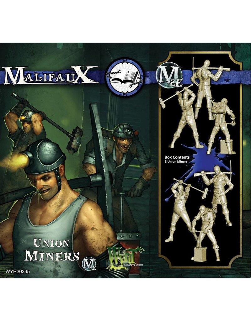 Wyrd Arcanists Union Miners Box Set