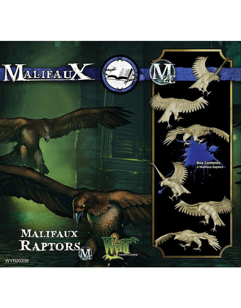 Wyrd Arcanists Malifaux Raptors Box Set