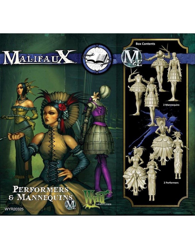 Wyrd Arcanists Mannequins/Performers Box Set
