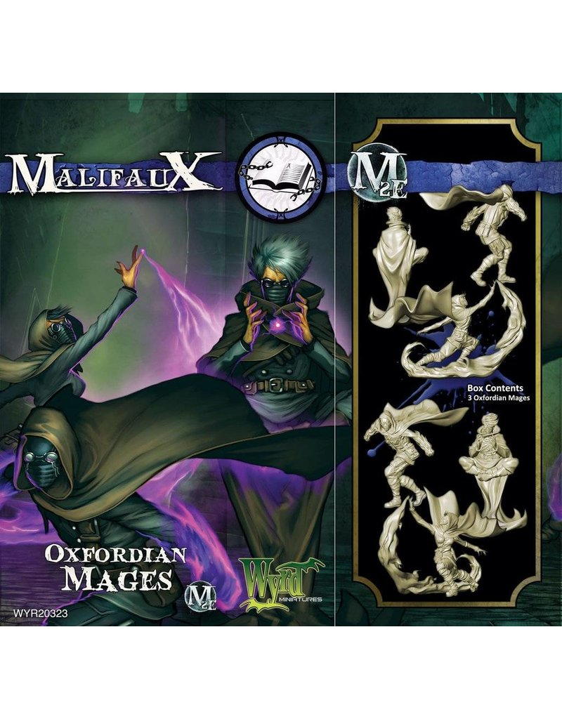 Wyrd Arcanists Oxfordian Mages Box Set