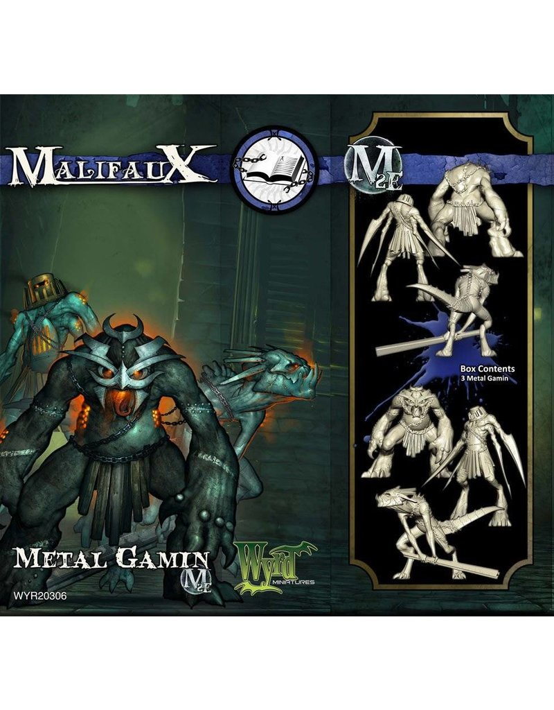 Wyrd Arcanists Metal Gamin Box Set