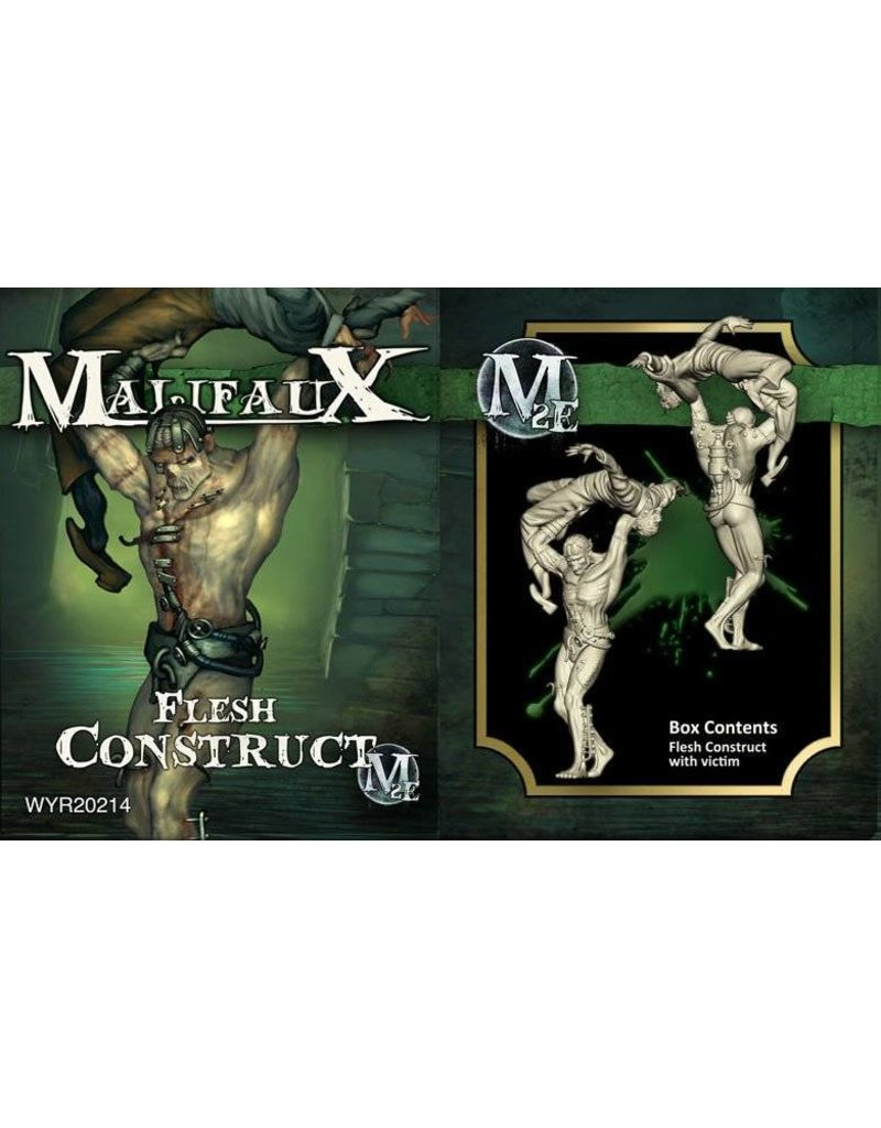 Wyrd Resurrectionists Flesh Construct (w/ Victim) Box Set