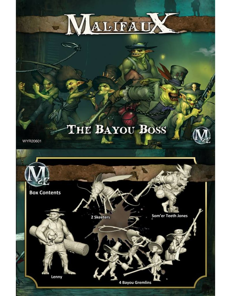 Wyrd Gremlins 'The Bayou boss' - Som'er Box set
