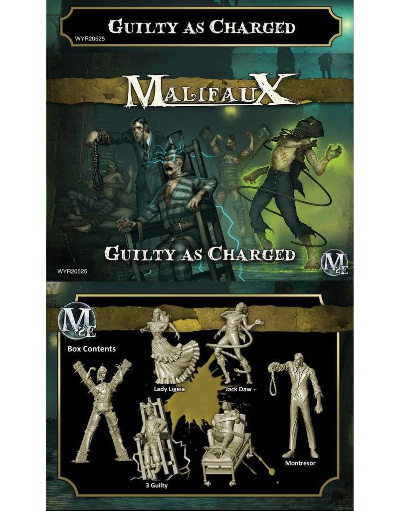 Wyrd Outcasts 'Guilty As Charged' - Jack Daw Box set