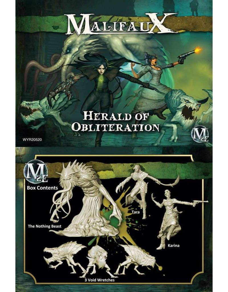Wyrd Outcasts/Resurrectionists 'Herald of Obliteration' - Tara Box set