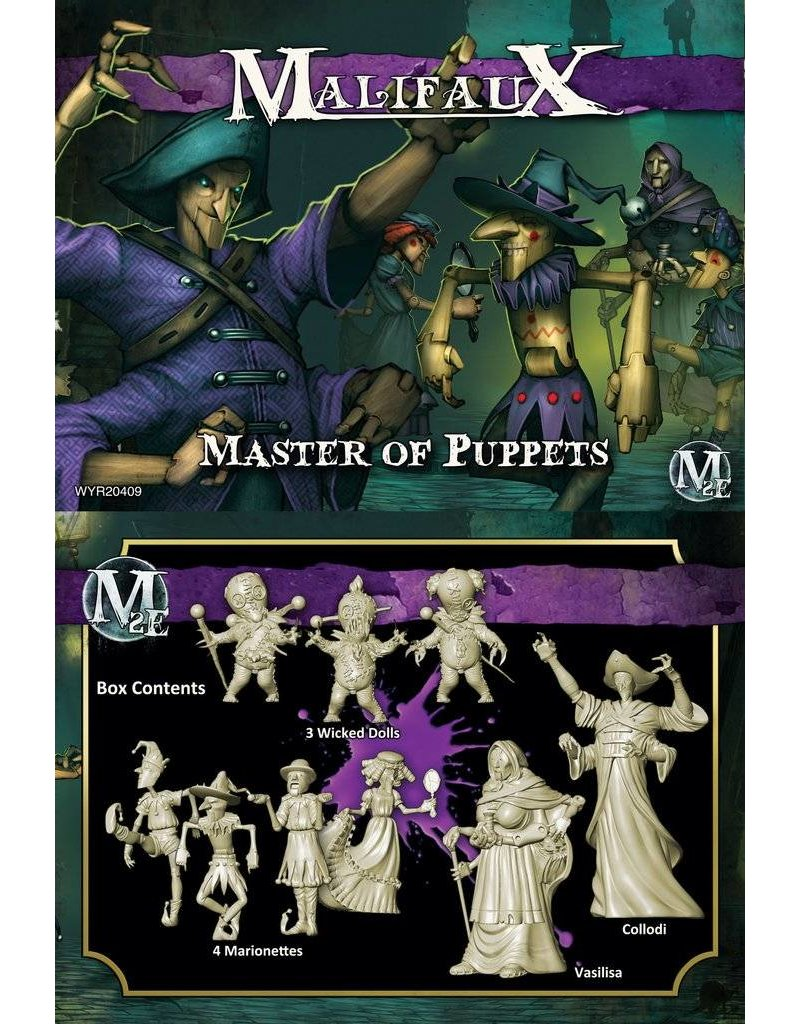 Wyrd Neverborn 'Master Of Puppets' - Collodi Box set