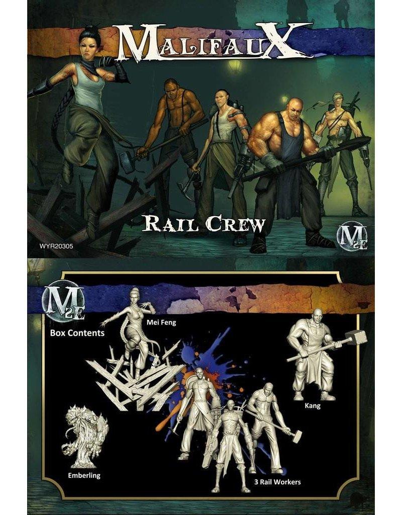 Wyrd Arcanists/Ten Thunders 'Rail Crew' - Mei Feng Box set