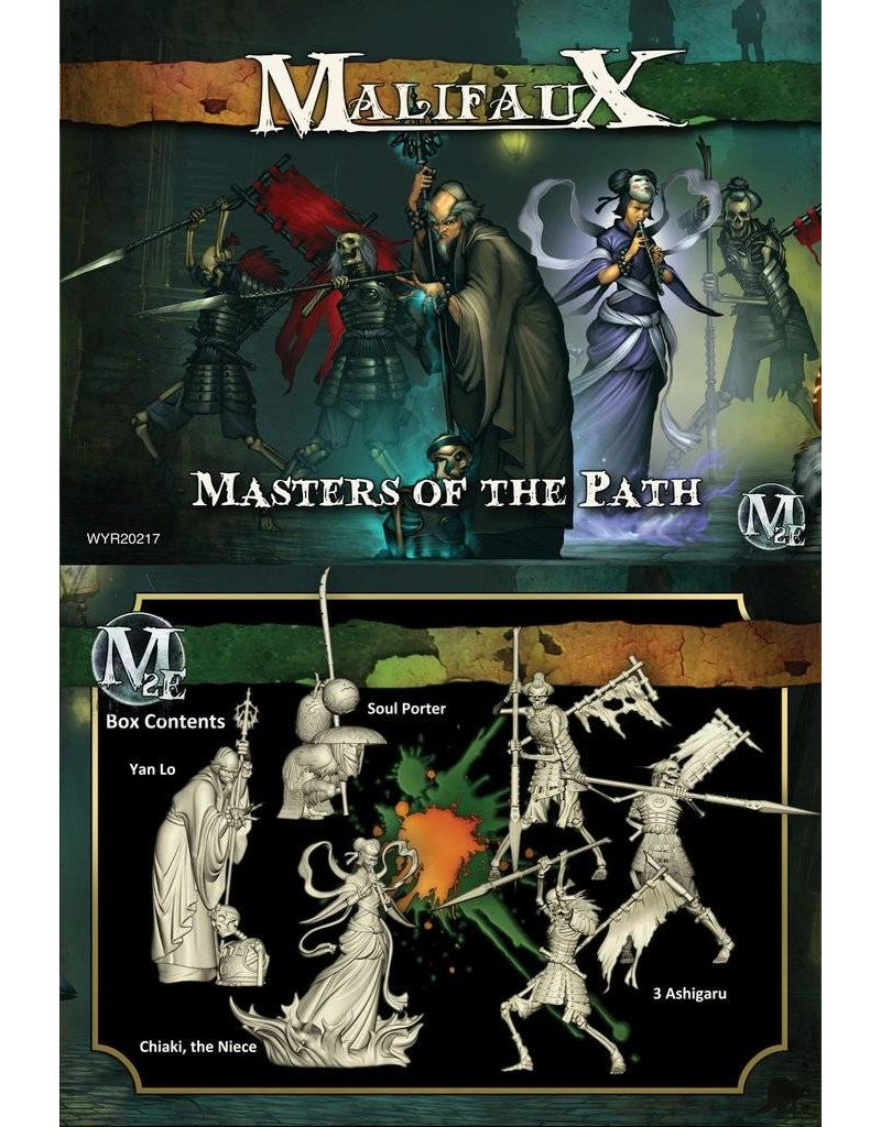 Wyrd Resurrectionists/TenThunders 'Masters of the Path' - Yan Lo Box set